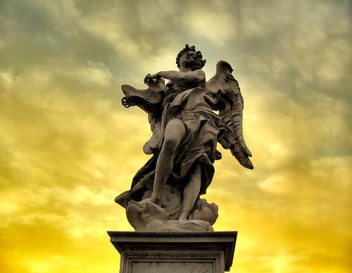 Inner Light of an Angel Statue?