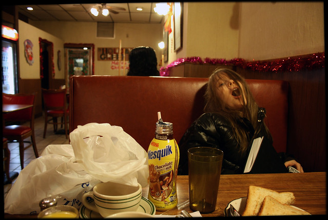 NY Diner at Christmas