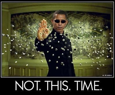 Obama as Neo
