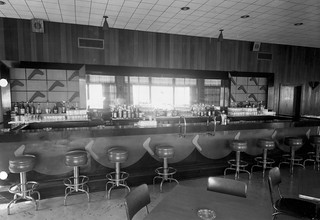 Henderson Hall, VA NCO Club bar 1 September 1952