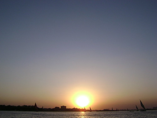 sunset landscape photography flickr egypt nile helwan maadi ma3adi andrewashenouda