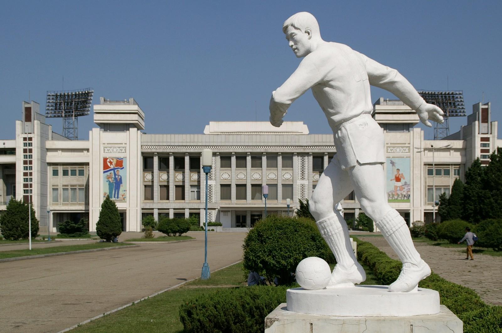 Kim Il Sung Stadium, Pyongyang