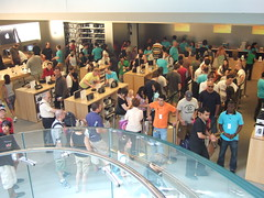 Apple Store, 5th Ave., NYC, 7/12/08 - 8 of 19