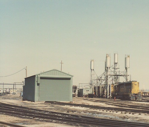 The Atchinson, Topeka & Santa Fe Corwith Yard engine terminal. Chicago Illinois. March 1985. by Eddie from Chicago