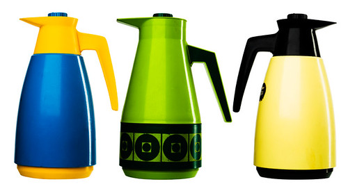 Mullticoloured thermos collection