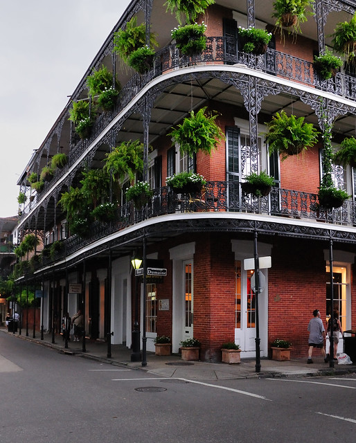 French quarter balcony flickr photo sharing for Balcony french