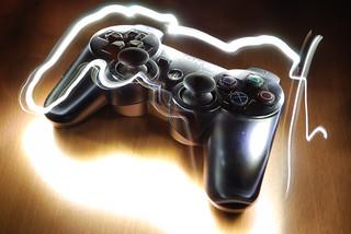 Light Graffiti - PS3 Controller