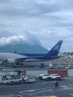 Another shot of Quito airport