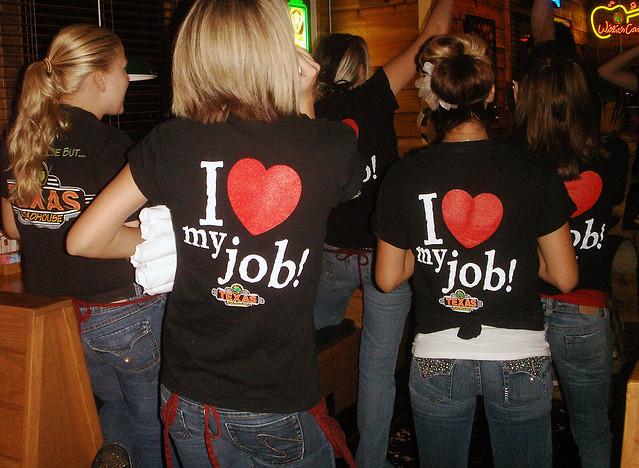 I heart my job!