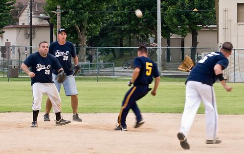 police softball
