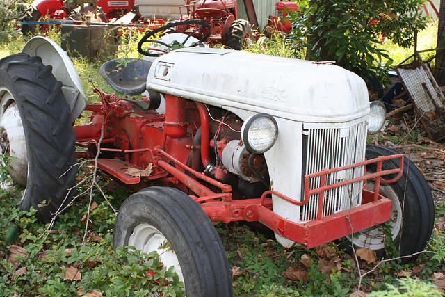 Old Ford Farm Tractors : Old ford tractor flickr photo sharing