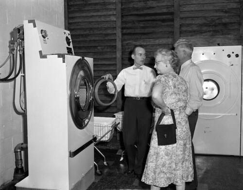 Laundry opening