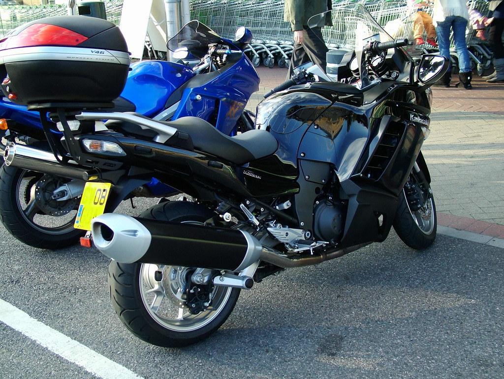 Kawasaki 1400 GTR 08reg
