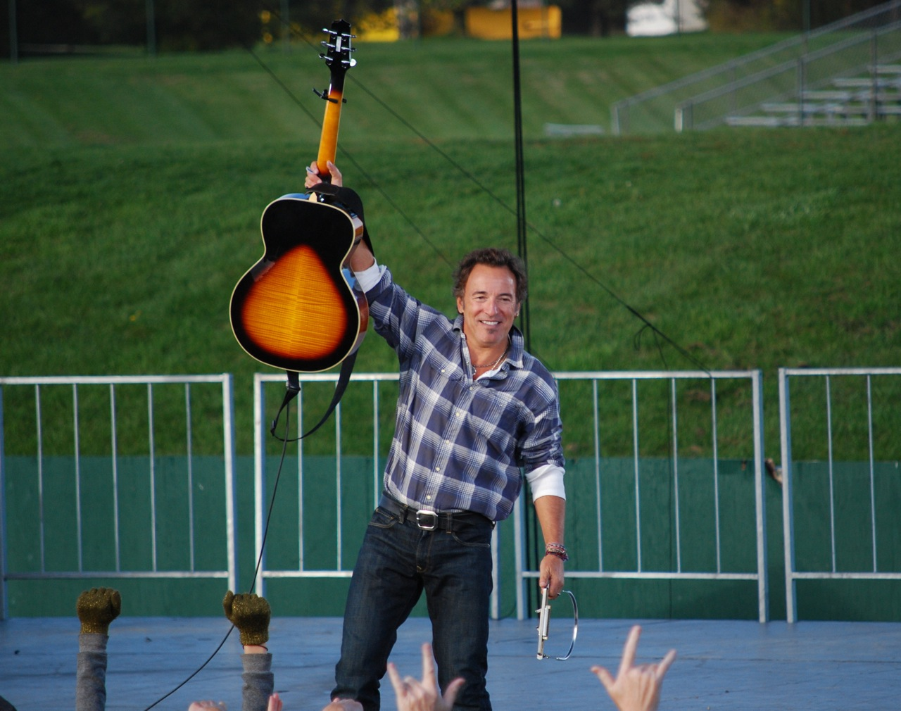 Photo of Bruce Springsteen. Author: Obama for America on Flickr - (CC BY-NC-SA 4.0)