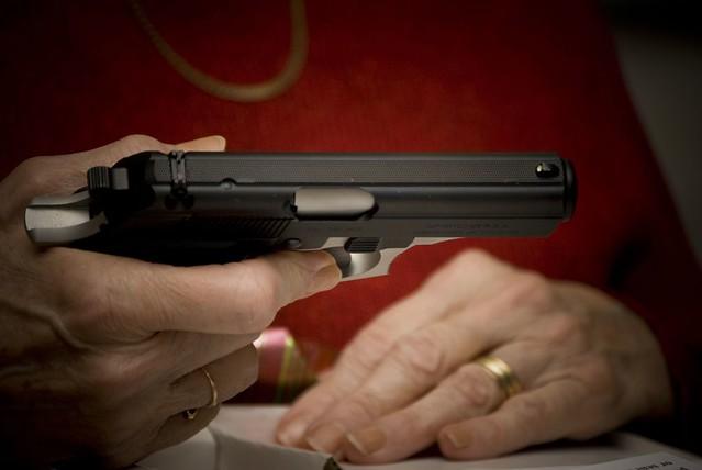 Nana got a Gun