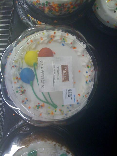 Flash Birthday Cake Walmart