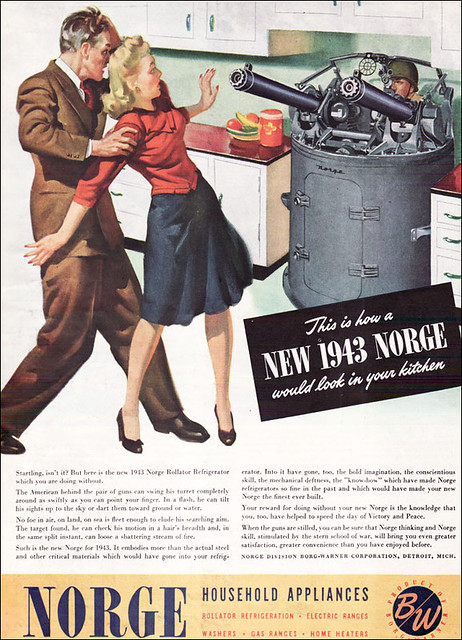 1943 Norge Ad - American Home