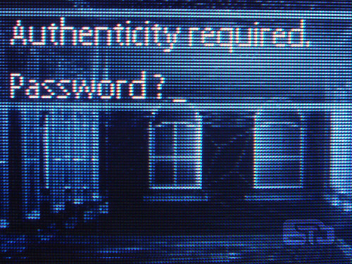 Authenticity required: password? | by liako
