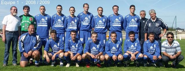Roscoff - Paotred Rosko - Equipe 1 -  2008 / 2009.