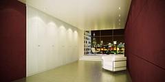 "Mazzali: ""900"" wardrobe / l'armadio ""900"" . Bedroom and living area"