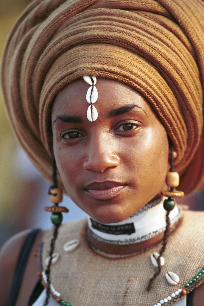 Beautiful Ethiopian Girl Caribbean Festival Penns Landing