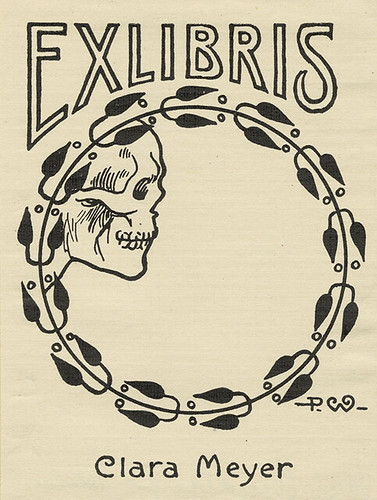 [Bookplate of Clara Meyer]