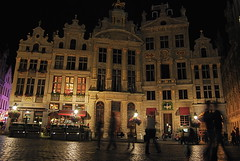 The ghosts of the Grand Place (View it in large)