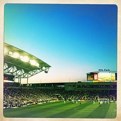 twilight over PPL Park #DOOP #philly