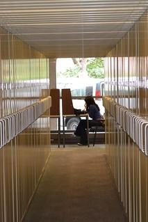 Microfilm cabinets in Suzzallo