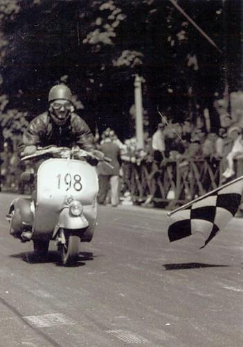 Aldo Tebaldini con scudo ammaccato by ilvespino52