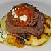 Pan-Seared Filet of Beef with Creamy Mascarpone Polenta