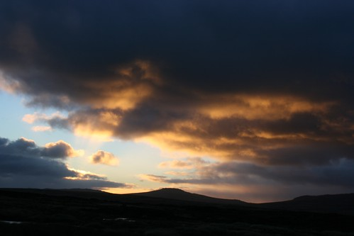 sunset falklandislands