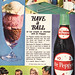 Dr Pepper & Ice Cream Ad 1969