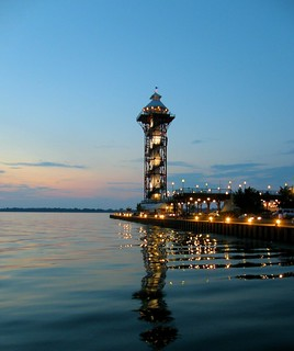 Bicentenial Tower on the Erie Bayfront