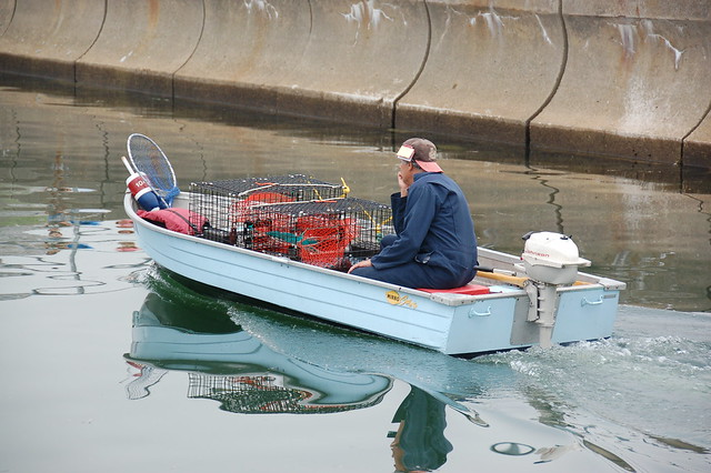 Really small lobster boat coming home in Scituate Harbor | Flickr - Photo Sharing!