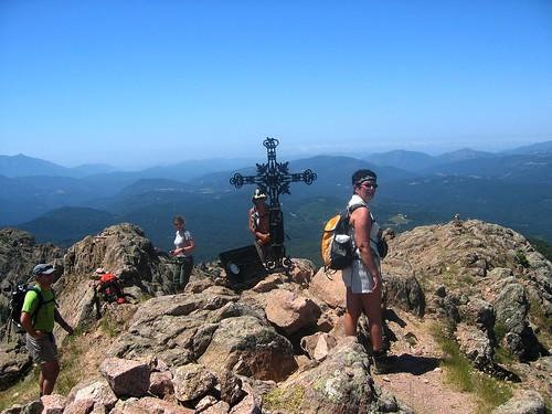 Au sommet de Punta Velacu