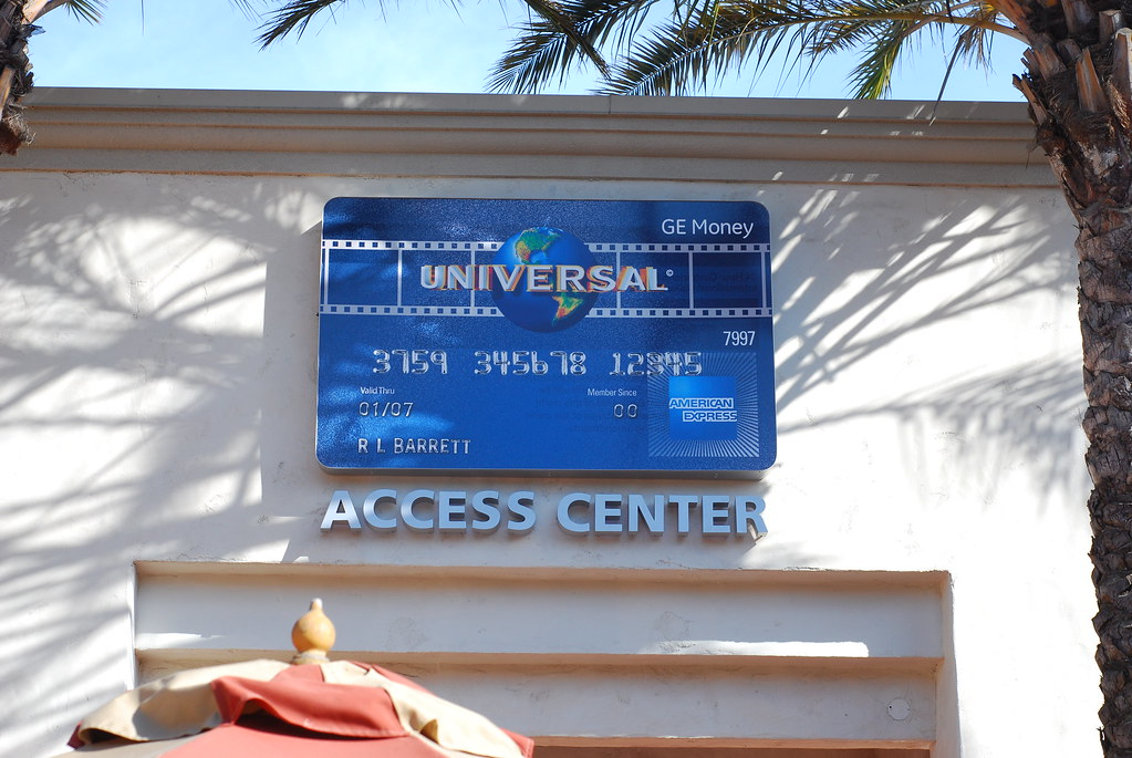 Universal dropped Chase for AMEX