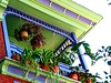 colorful balcony by rosalee3