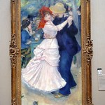 BOS_064 Dance at Bougival by Pierre-Auguste Renoir