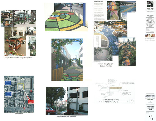 Van Dyke Alley Pedestrian Plaza