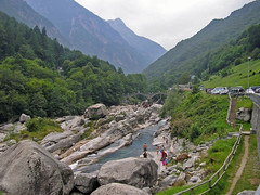 Valle Verzasca near Lavertezzo