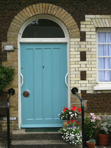 Cottage And Vine The Blue Front Door