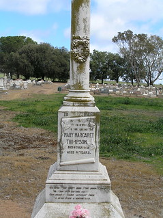 Thompson Headstone at Grenfell Cemetery, NSW