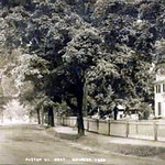 Foster Street, West Melrose, Massachusetts postcard