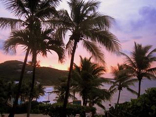Image de Limetree Beach près de Charlotte Amalie. sunrise stthomas morningstarbeach