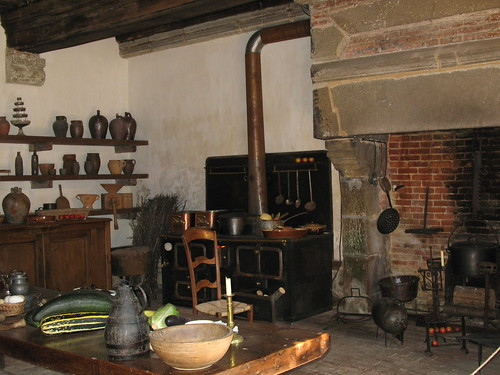 Karen's photo of an antique French kitchen