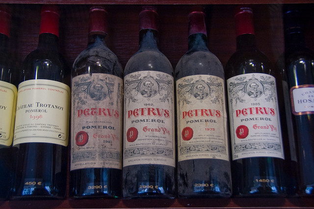 Chateau Petrus wines