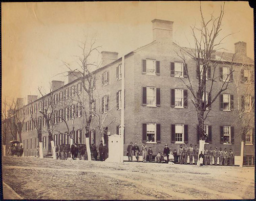 View on Pennsylvania Avenue, Washington, D.C.[Soldiers, civi...