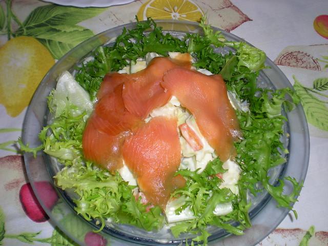 Ensalada de aguacate y salm n ahumado flickr photo - Ensalada de aguacate y salmon ahumado ...