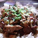 Gumbo mit Hühnerfleisch und Chorizo